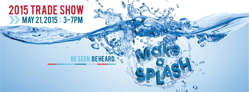 trade show make a splash